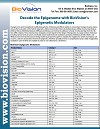 Decode the Epigenome with BioVision�s Epigenetic Modulators